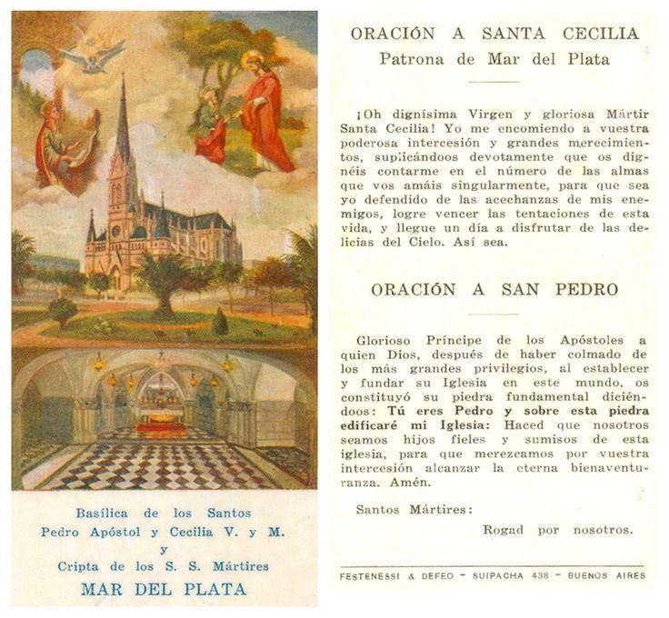 oracion | Oración a Santa Cecilia y a San Pedro