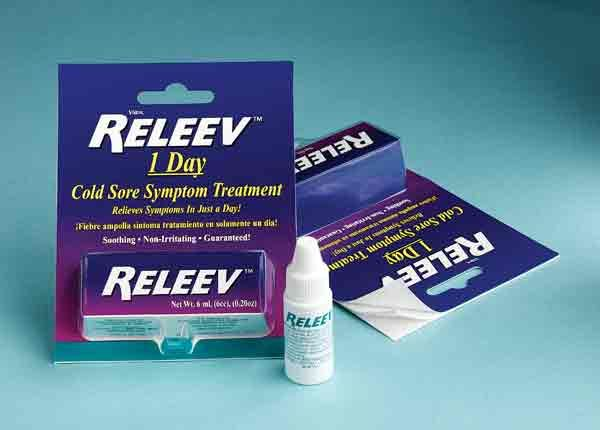 Releev cold sore treatment
