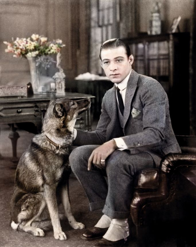 1920s Hollywood - The legendary Rudolph Valentino