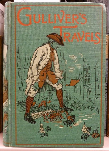 english society as seen by jonathan swift in satirical novel gullivers travels Gullivers travels- such a good book guilliver's travels is a satire on the society of the day and a warning gulliver`s travels by jonathan swift see more.