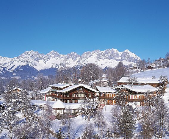 Hotel Tennerhof. Hotel and restaurant in the mountains. Austria, Kitzbühel. #RelaisChateaux #Ski #Skiing #Chalet #Austria