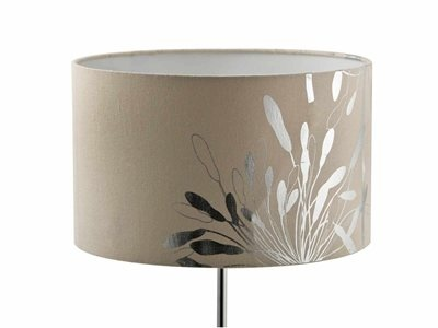 Nice! Natural Linen Silver Lampshade from Mr Price Home at R100.