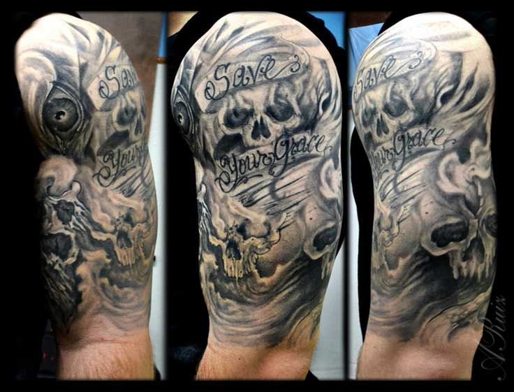 20 Ghost Tattoos Sleeve Ideas Drawings Ideas And Designs