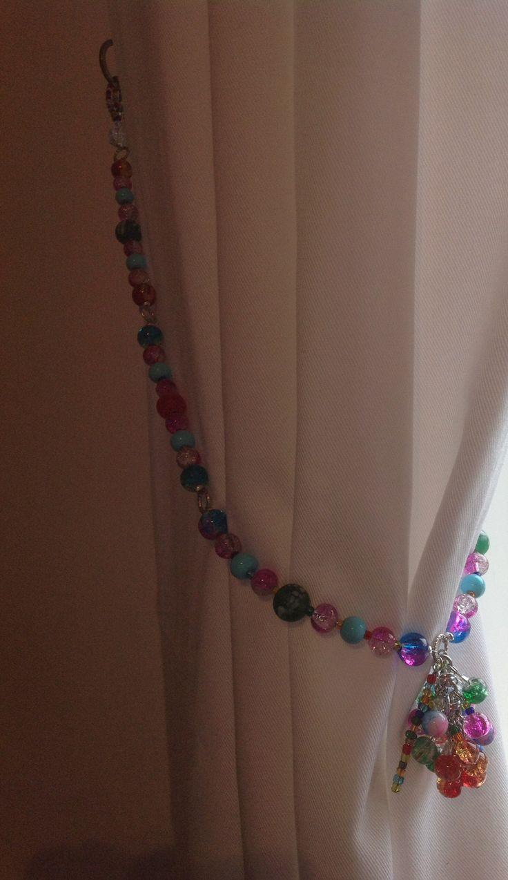 Gorgeous curtain tie backs by Beady Zedini