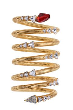 Bracelets and Bangles / karen cox.  CA&LOU Fall 2014 jewelry bracelet | cynthia reccord