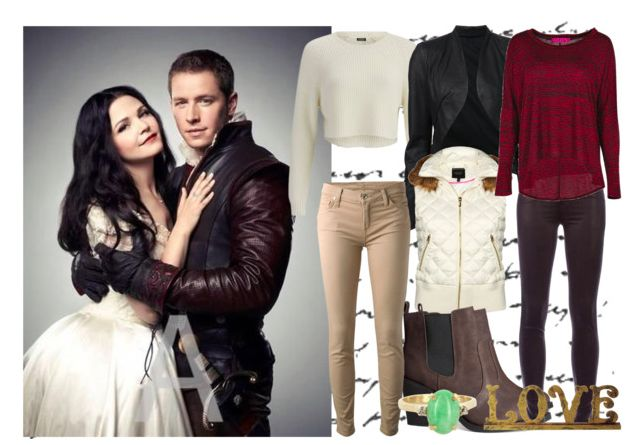 Looks inspired by Snow White and Prince Charming from Once Upon a Time @thegirlbackstage
