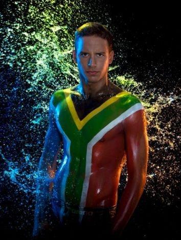 Chad le Clos go south africa!!!!!