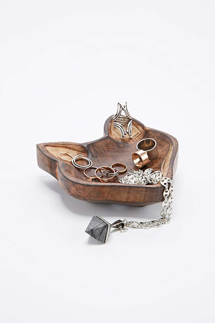 Wooden Fox Bowl - Urban Outfitters