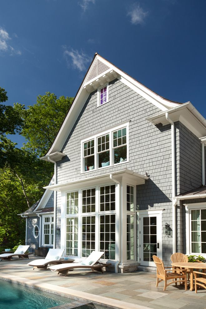 379 best house exteriors images on pinterest exterior Sherwin williams gray shingle exterior