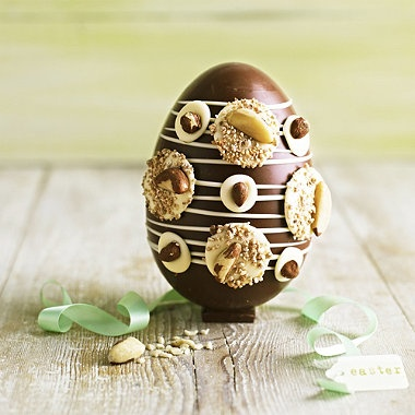 GLAM•❖•Luxury  www.facebook.com/pages/GLAMLuxury www.twitter.com/GLAMandLuxury http://goo.gl/zbz2F James' Luxury Nut Egg #easter