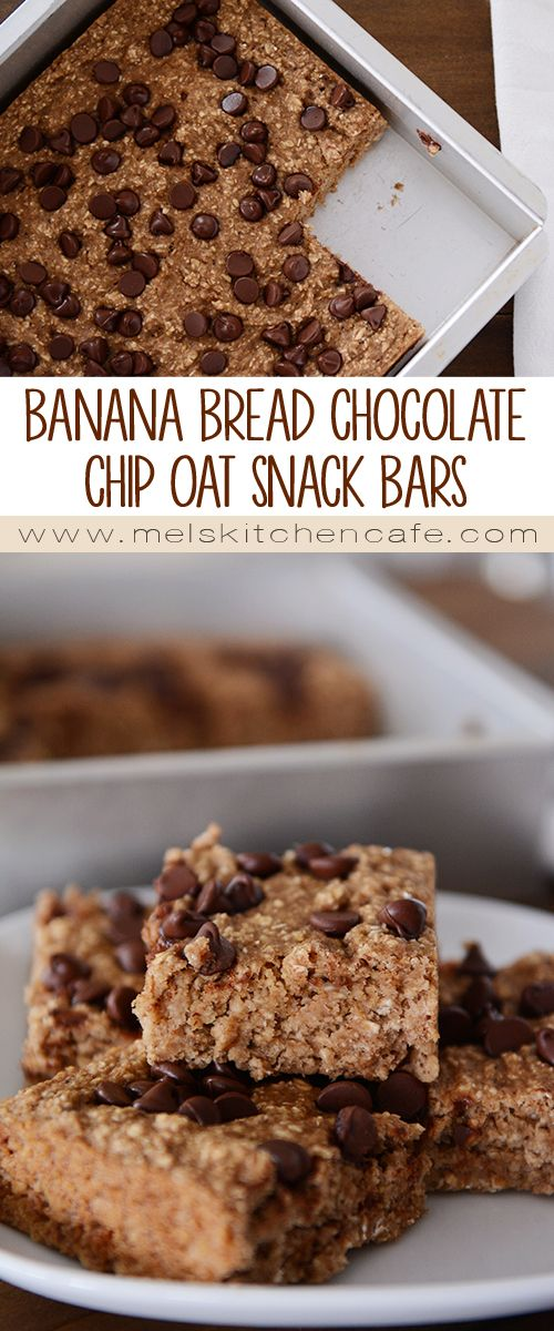 Low in sugar (natural and artificial) and without any added oil or fat, these tasty banana bread bars really do fit the bill for a nutritious snack.