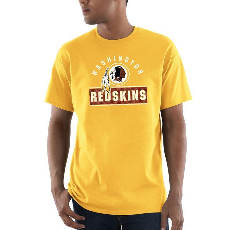 Washington Redskins Majestic Maximized T-Shirt - Gold