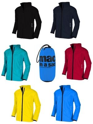 Classic Waterproof Packaway Jacket : Mac in a Sac keeps you perfectly dry when the weather starts to turn nasty. Featuring a host of features for a great price