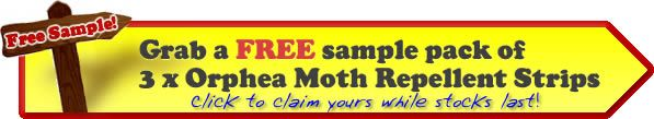 Get free samples of Orphea #MothRepellent strips to give away. No strings. No catches. No more moths! First come, first served so be quick!  For more information see our Moth repellent strips page. To see our other Moth Deterrents category: http://www.caraselledirect.com/_/moth_deterrents/24/
