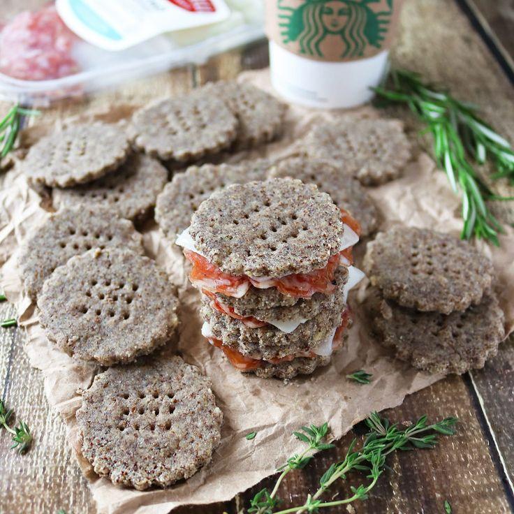 Herbed Garlic Crackers, Creminelli And Starbucks