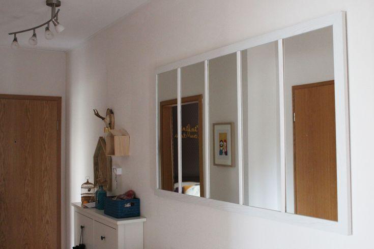 17 meilleures id es propos de miroir pour hall d 39 entr e for Miroir verriere ikea