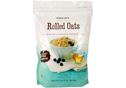 Trader Joe's  Gluten Free Rolled Oats 32 oz. $3.99  #traderjoes #GlutenFree #RolledOats