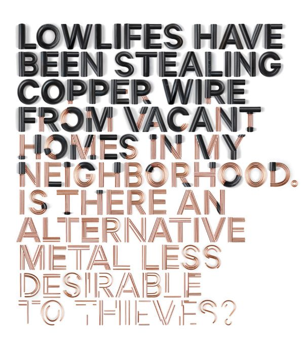 Wired Magazine — Typographic Illustration by SAWDUST , via Behance