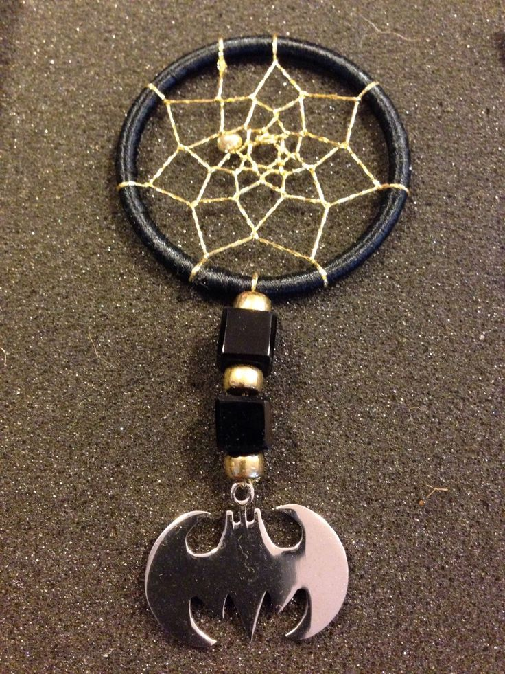 A personal favorite from my Etsy shop https://www.etsy.com/listing/247803993/batman-dreamcatcher