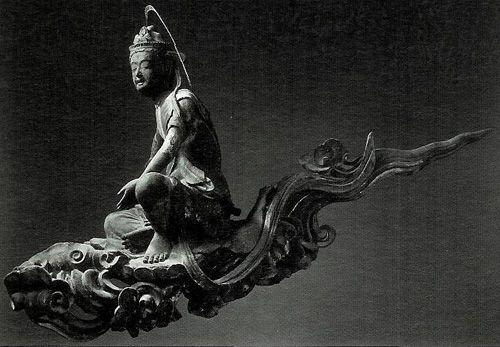 Cloud memorial Bodhisattva - Byodoin Temple -01