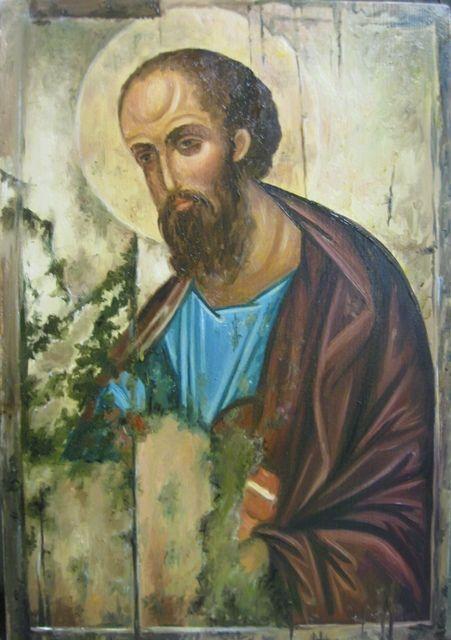 Св.апостол Павел (холст,масло) - художник Ядвига Сенько