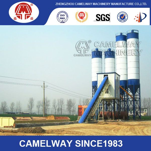 90m H Concrete Batching Plant Mainly Consists Of Cement Silo Screw