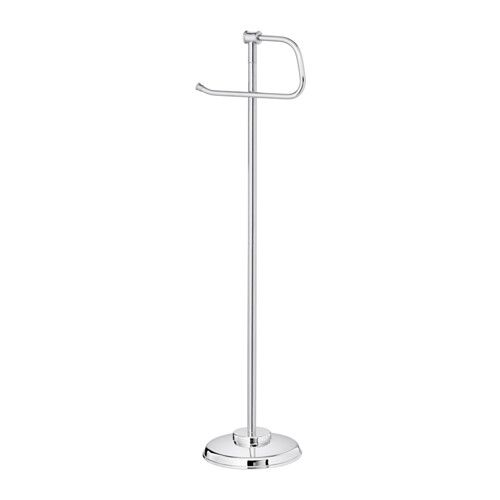 BALUNGEN Toilet roll holder IKEA The magnetic holder allows you to quickly and easily change the toilet paper roll.