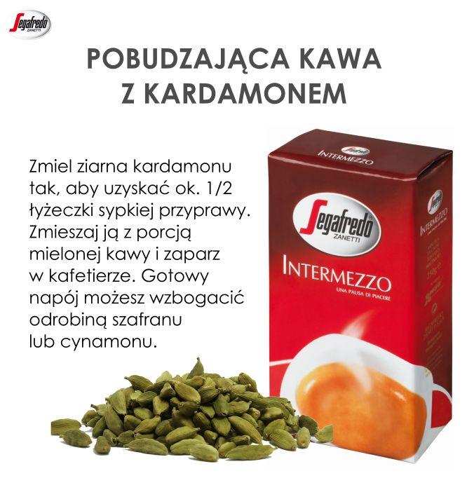 Jesień to doskonała okazja do wypróbowania aromatycznych połączeń kawy z korzennymi przyprawami. W takim zestawieniu doskonale sprawdzi się kardamon, znany z pozytywnego wpływu na układ pokarmowy. #Segafredo #KawyŚwiata #JesiennaKawa #KawaZKardamonem #Intermezzo #PrzyprawyDoKaw