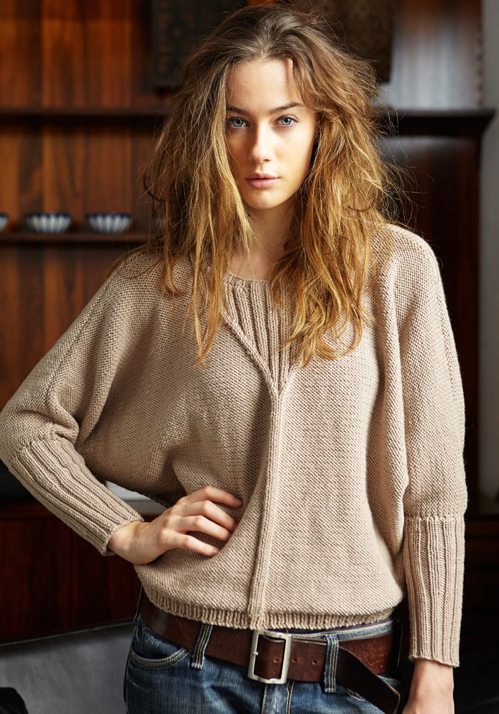 Knit Jo Sharp — 303 dolman sweater -digital download