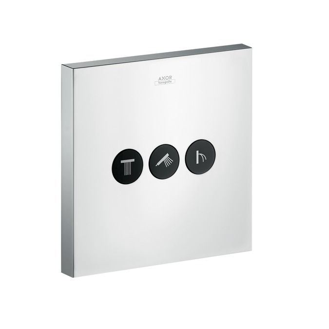 Axor ShowerSelect Square valve for concealed installation for 3 outlets