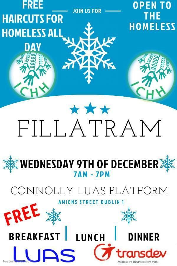 Inner City Helping Homeless this Christmas - #FILLATRAM