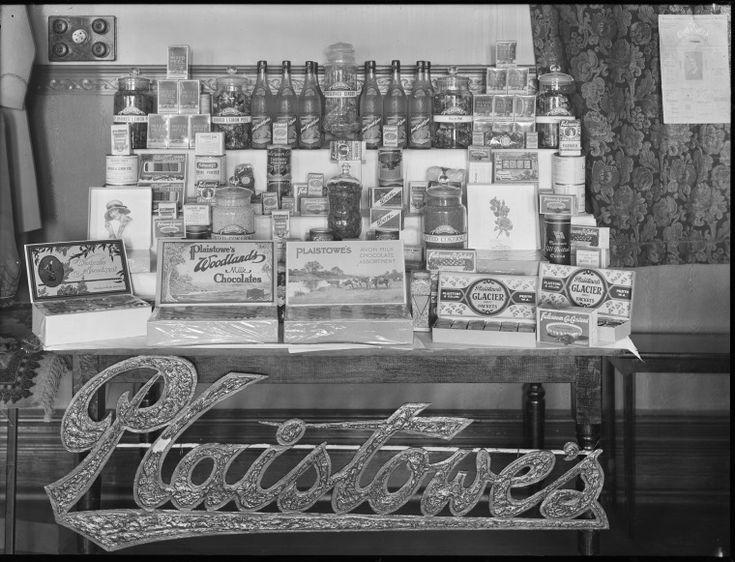 014452PD: A display of Plaistowe's products, 1929 http://encore.slwa.wa.gov.au/iii/encore/record/C__Rb3418208