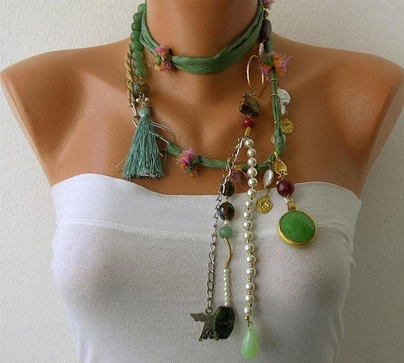 Perla bianca fatta a mano di perline catene
