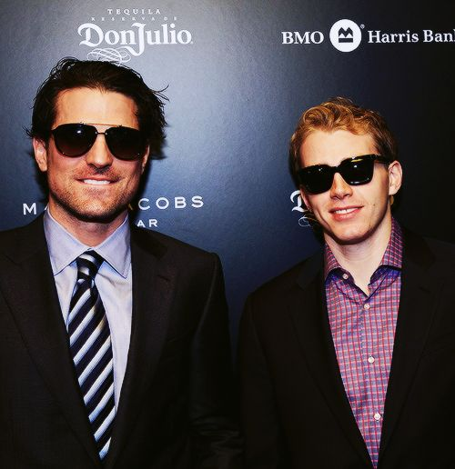 The Patricks (Patrick Sharp, biting his lip, makes me want to pass out!)