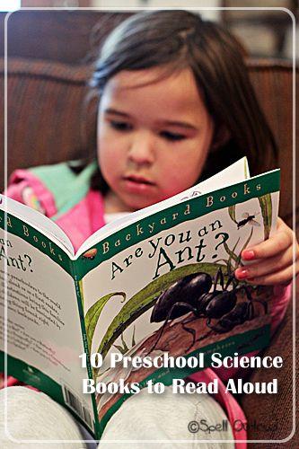 Preschool Science Books to Read Aloud
