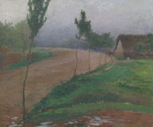 Antonín Slavíček - After the rain #painting #art #Czechia