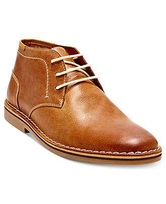 S- size 9.5 Tan Steve Madden Harken Chukka Boots