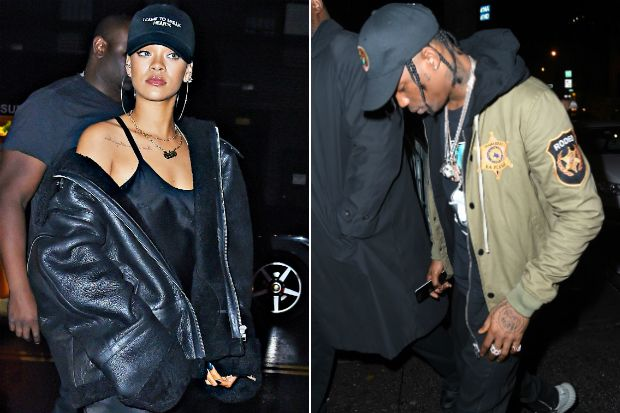 Rihanna and Travis Scott Have a Date Night After His NYC Concert