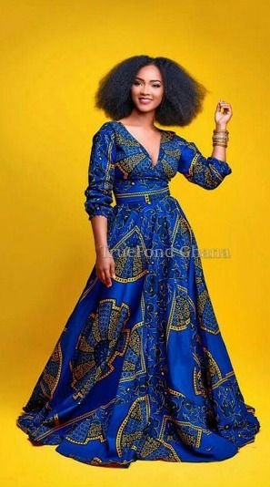 Current dress styles in ghana africa