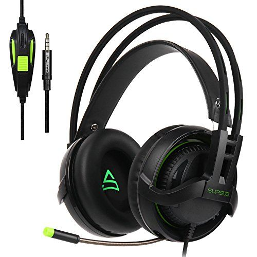 [2017 New Updated PS4 Gaming Headset]SUPSOO G810 Multi-Platform Gaming Headset With Mic 3.5MM Jack IN-LINE Volume Control Over-ear Gaming Headphones For Playstation 4 / PC/ Xbox one /Mac/ Smartphones -  http://www.wahmmo.com/2017-new-updated-ps4-gaming-headsetsupsoo-g810-multi-platform-gaming-headset-with-mic-3-5mm-jack-in-line-volume-control-over-ear-gaming-headphones-for-playstation-4-pc-xbox-one-mac-smartphones/ -  - WAHMMO