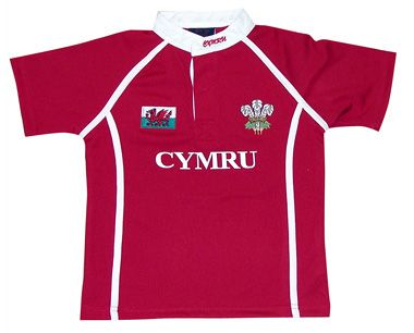 welsh clothes | Clothing :: Childrens Clothing :: Welsh Theme :: Wales Rugby Shirt ...