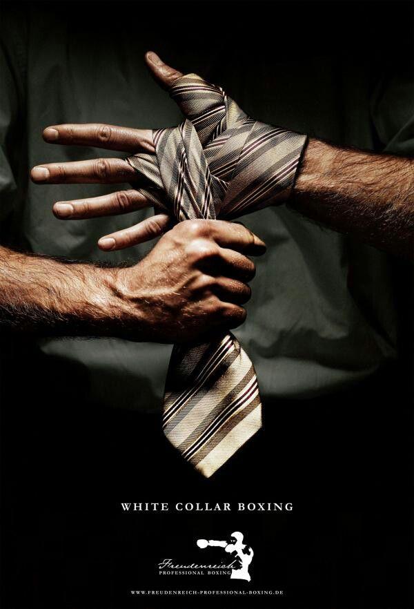 Boxing hand wrap tie