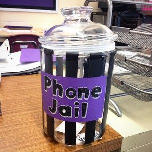 "Keep students from texting in class with ""cell jails."" 