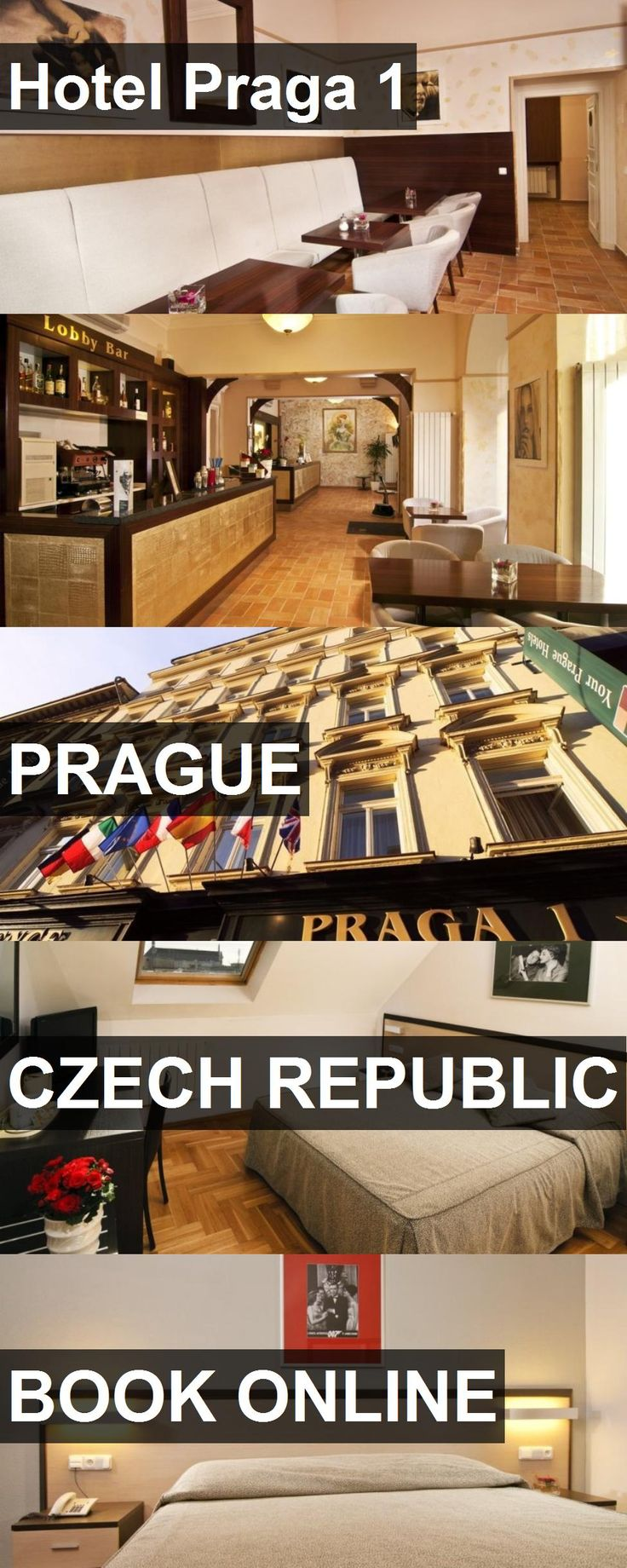 Hotel Praga 1 in Prague, Czech Republic. For more information, photos, reviews and best prices please follow the link. #CzechRepublic #Prague #travel #vacation #hotel