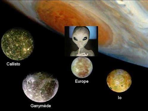 NASA irá buscar vida em um dos satélites de Júpiter (Europa)