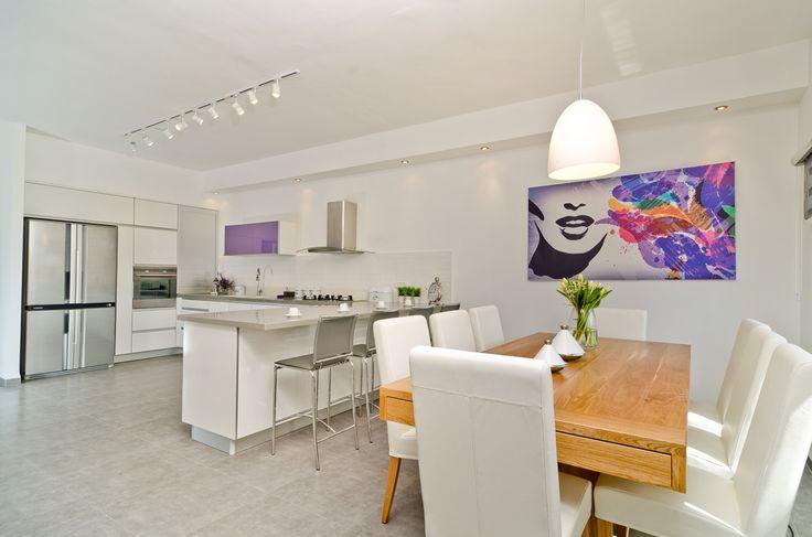 Kitchen designed by Lilach Ben Itzhak
