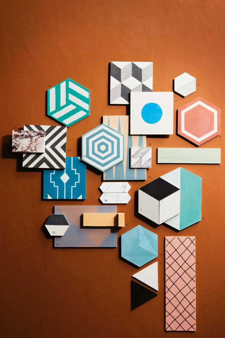 Inside Out magazine's roundup of statement tiles.