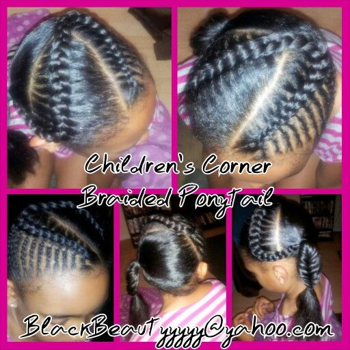 Stupendous 1000 Images About Kids Hair Styles On Pinterest Cornrows Hairstyle Inspiration Daily Dogsangcom