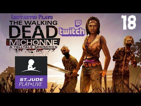 21 best leo plays the walking dead michonne images on pinterest this was streamed on twitch during the st jude playlive event starring the iconic fandeluxe Image collections