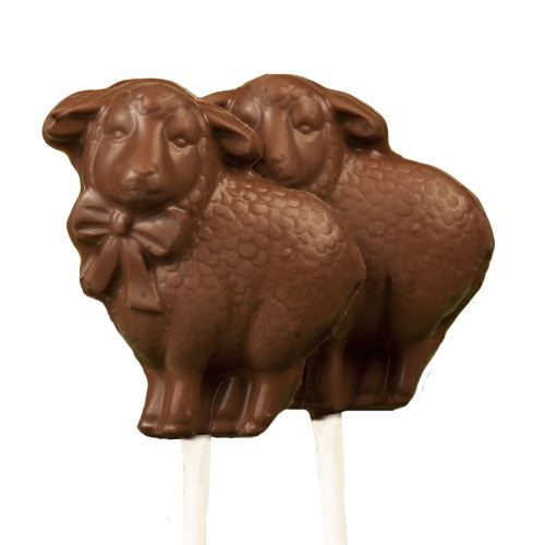 Sold Out - No Sugar Added Easter Milk Chocolate Lolly